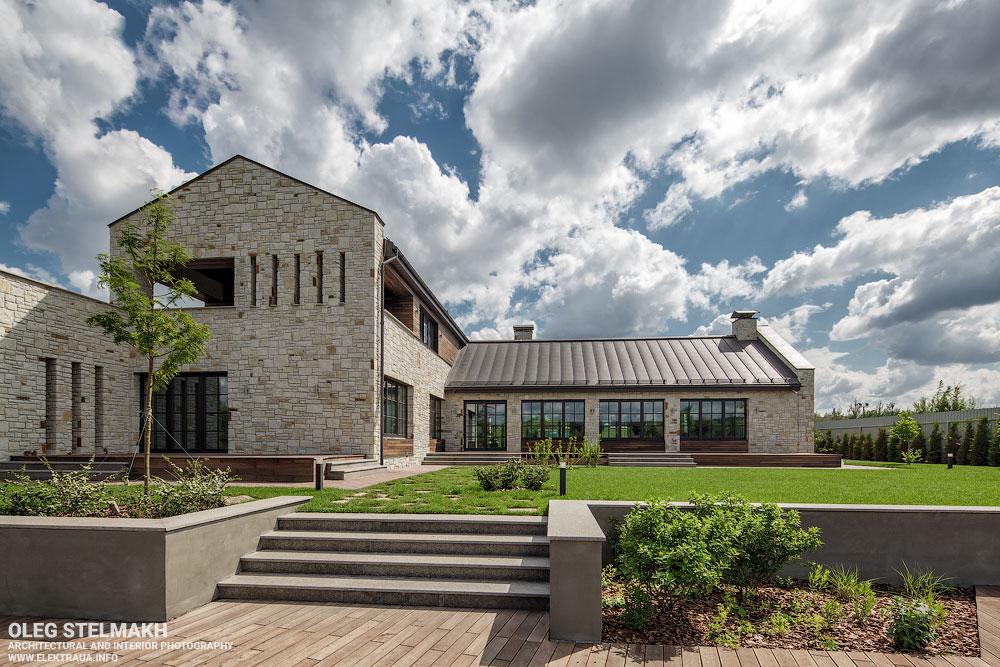 Архитектурная и интерьерная фотосъёмка частного дома с с.Романков